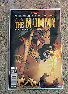 Hammer Comics The Mummy: Pailmpsest  Issue 1 (Comic)