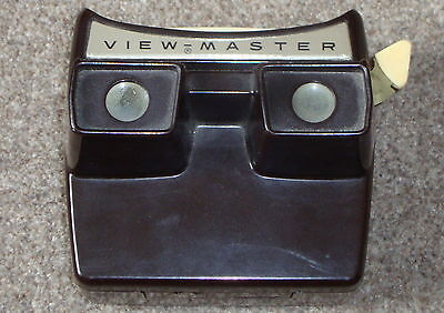 VIEW-MASTER MODEL F BAKELITE LIGHTED STEREO VIEWER Working Viewmaster SAWYERS
