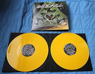 Overkill - The Grinding Wheel (2 yellow Records)
