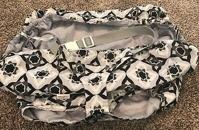 Baby Infant Shopping Cart Cover J J Cole Collection EUC Fold To Pouch