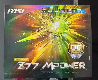 MSI Z77 MPower LGA1155 Motherboard