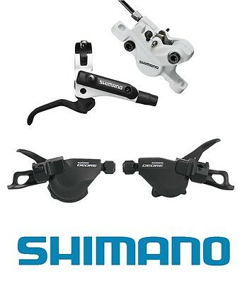 e6110313f1a SHIMANO BL-M506 HYDRAULIC Disc Brake Levers & Br-M447 Calipers ...