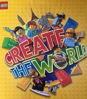 Choose 10 Cards From Create The World Lego Cards (Sainsbury's)