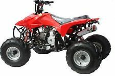 Hawkmoto Storm Trooper 110cc Quad Bike 4 stroke with Reverse Red