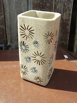 BRITISH STUDIO POTTERY  vase #2 SIGNED MT  .. UN-KNOW MAKER