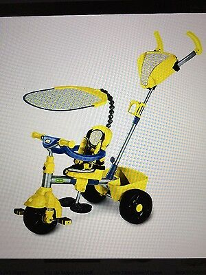 LITTLE TIKES  4 in 1 trike   SPORT EDITION YELLOW AND BLACK