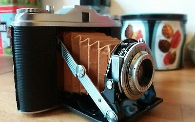 2 x agfa isolette 120 camera I and III. (I restored III in need of restoration)