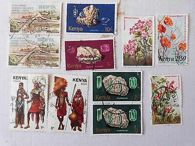 Used Stamps Of Kenya
