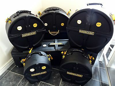 New Hardcase Drum Case Set For Dw, Pearl, Ludwig With Used Hn48W Hardware Case