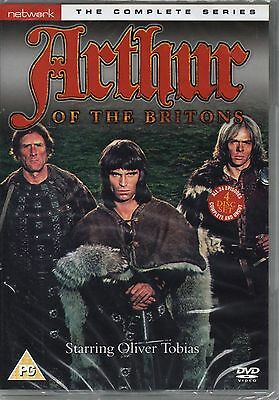 Arthur Of The Britons - Complete Series (DVD, 4-Disc Set) New & Sealed