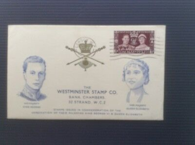 Gb First Day Cover - 1937 Coronation