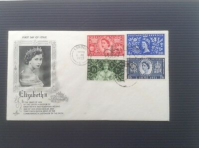 Gb First Day Cover - 1953 Coronation