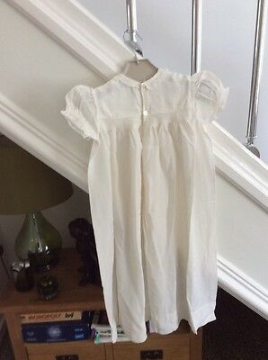 Ivory Christening Vintage Gown