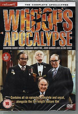 Whoops Apocalypse - The Complete Apocalypse (DVD, 2-Disc Set) New & Sealed
