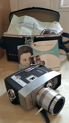 Vintage Bell and Howell 8mm movie camera Director series