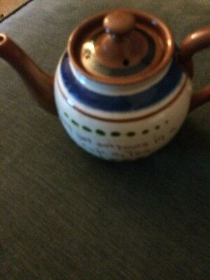 Torquay Pottery - TEA POT