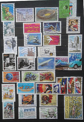2002 -   Lot de  timbres de collection français oblitérés