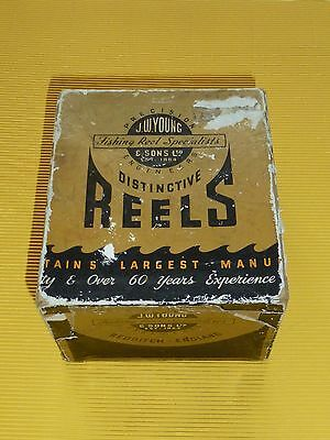 Vintage Fishing Tackle J W Youngs Landex Reel Boxed
