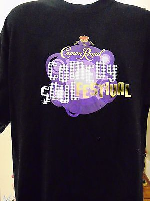 Crown Royal Comedy & Soul Festival 2003 Isley Brothers Men's T-Shirt X-Large