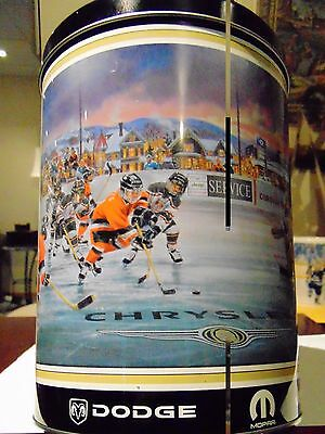 """""""Rare"""" CHRYSLER Jeep Dodge Hockey Collectors Tin and Puzzle  New Unopened"""