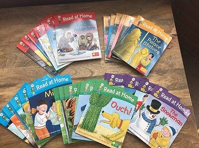 Huge Bundle Learn To Read Books- Read At Home Books 1-5 Collection Of 30 Books