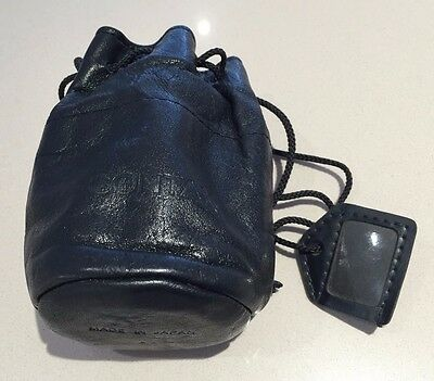 Contax Soft Leather Lens Pouch for Zeiss Planar 50/1.4 or Distagon 28/2