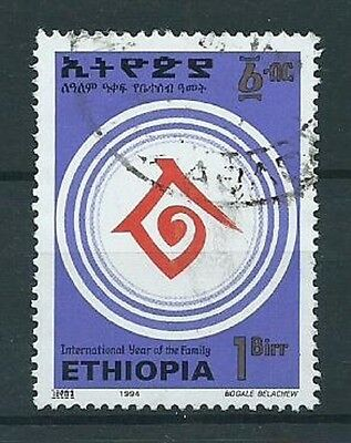 Stamps Ethiopia Sg1580 International Year Of The Family 1994 Used