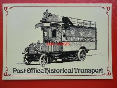 Postcard Royal Mail Post Office - Parcel Post Motor Coach