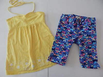 Girls Sz 8 Slim 10 Childrens Place Justice Outfit Set Shorts Shirt Top