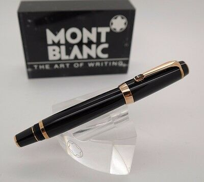 Rollerball Pen MONTBLANC Boheme Black Resin & Gold Plated Trims - Brown Stone