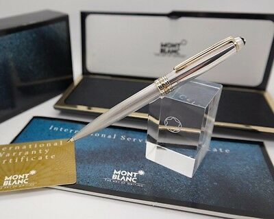 Mechanical Pencil MONTBLANC Solitaire SILVER 925 Barley 0,5mm W-Germany Ref 1658