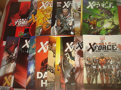 CABLE AND X-FORCE #1-19 Complete Set  Marvel Comics 2012  NM