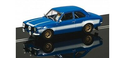 **SALE** Reduced - Scalextric Slot Car Ford Escort Mk1 RS2000 Blue C3592