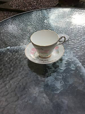 Anniversary Cup/saucer