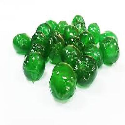 Glazed Cherries Green W/B - 33.07 lb