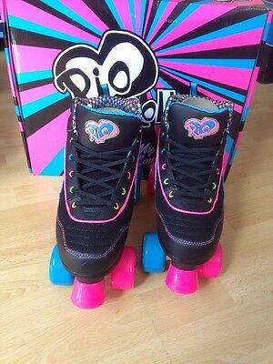 SFR Rio Roller Skates PASSION Size UK8 Brand New With Box