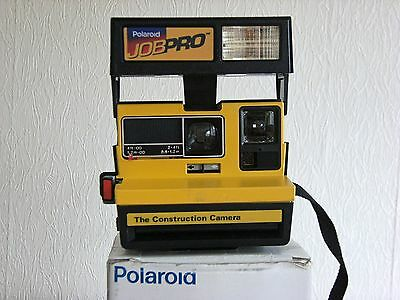 Polaroid Jobpro Instant Film Camera With Flash Bar & Box