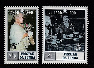 Tristan 1990 Queen Mother's 90th Birthday MNH (2)