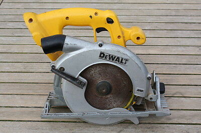 DEWALT DC390 165mm 18V CORDLESS CIRCULAR SKILL SAW  BARE UNIT
