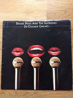 "Diana Ross And The Supremes 20 Golden Greats Original 12"" Vinyl LP 1977 Motown"