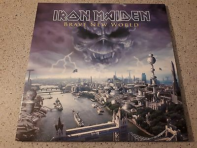 "IRON MAIDEN ""Brave new world"" 1° press double picture disc gatefold..like NEW!!!"