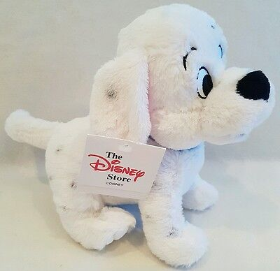 "New*Disney Store 101 Dalmatians Penny Puppy Dog Soft Plush Toy large 11"" long"