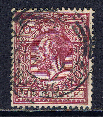 Great Britain #167(14) 1912 6 pence rose lilac George V Used CV$6.50