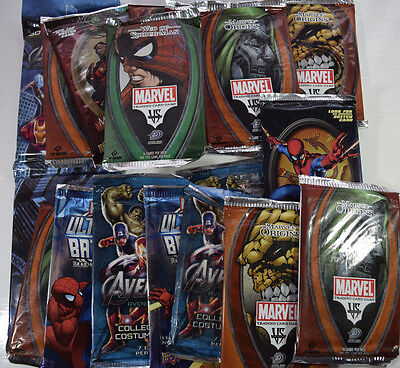 Job Lot of 18 Sealed Marvel Trading Card Booster Packs by Upper Deck