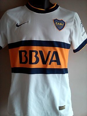 Boca Juniors Away Shirt 2014 - 2015 Adult Small Descensos 0 In Good Condition