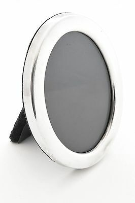 Oval Sterling Silver Photo Frame 1987