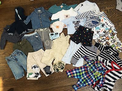 Massive Baby Boys Bundle 0-3 M Ted Baker, H&M, Next, Junior J, Ralph Lauren, Gap