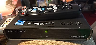 Digital Stream DTX9950 Dolby Digital DTV Converter Box with Remote & Cables
