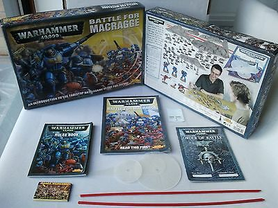 Battle of Macragge Rulebooks, Box & Templates Only - Warhammer 40 Space Marines