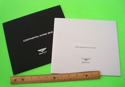 2004 BENTLEY CONTINENTAL FLYING SPUR DLX CATALOG IN SLIPCASE Sedan COUPE Xlnt+